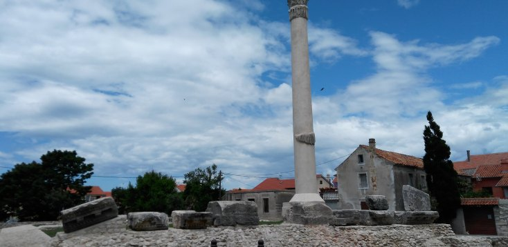 Ruine romane, Croatia