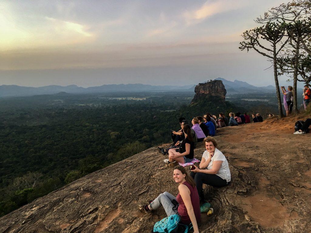 Pidurangala en Sigiriya uitzicht