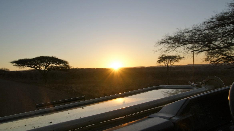 Zonsondergang, Zuid-Afrika