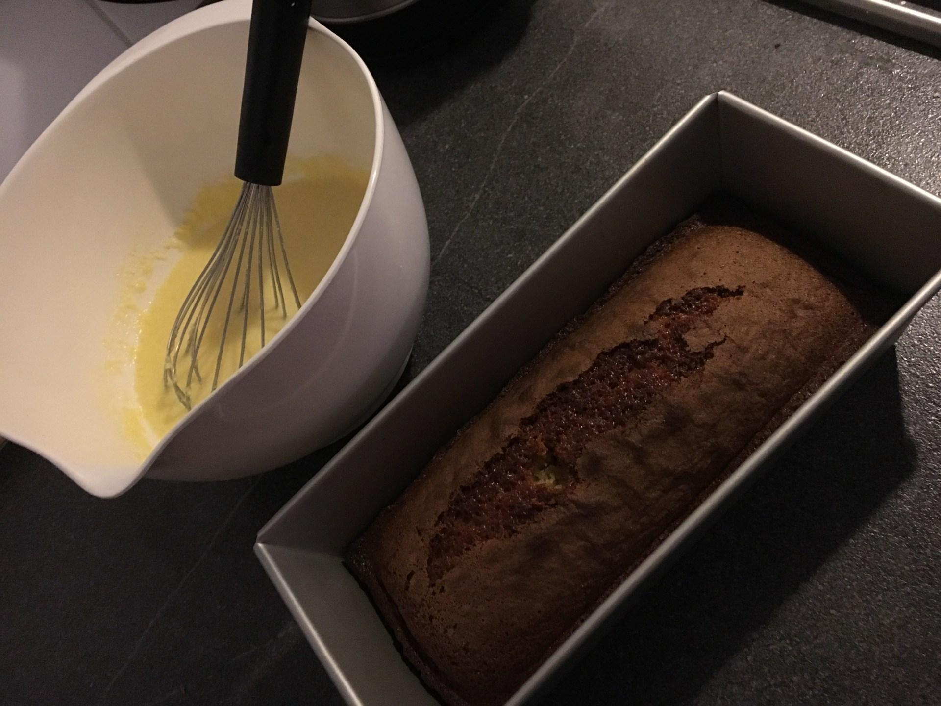 Zuid-Afrikaanse malva pudding