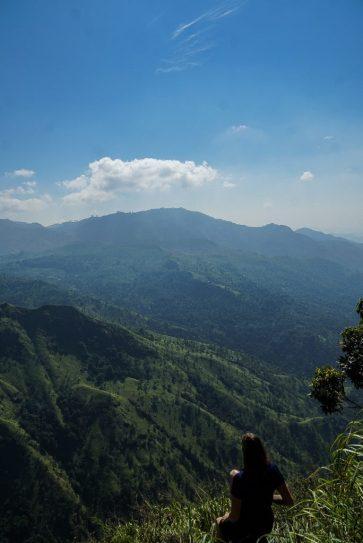 uitzicht Ella Rock, Ella Rock & Adam's Peak, Sri Lanka