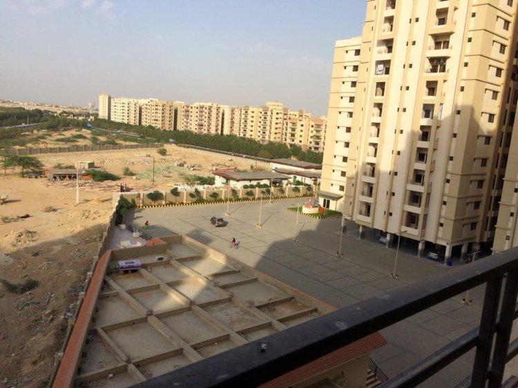 Visited Saima Jinnah Avenue Karachi - A new Residential Project on