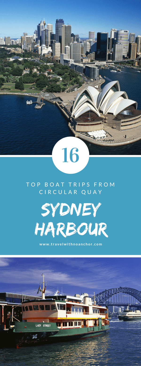Top 16 Sydney Harbour Cruises from Circular Quay #sydney #sydneyharbour #boattrips #cruises #topthingstodo