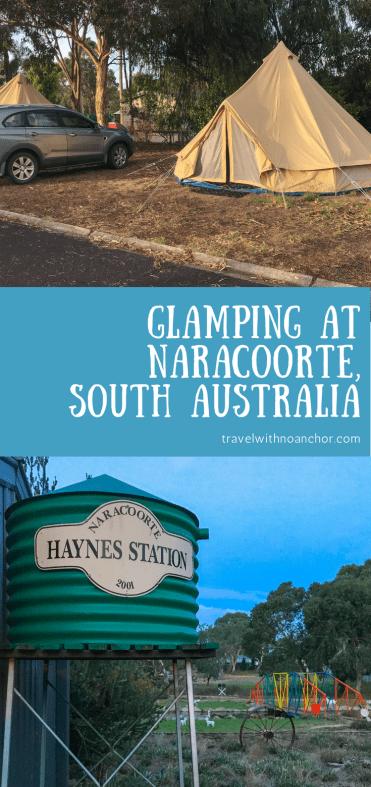 Glamping experience at Big4 Naracoorte Holiday Park, South Australia #glamping #naracoorte #southaustralia #outdoors