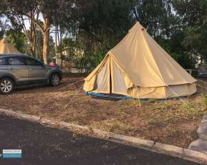Glamping at Big4 Naracoorte Holiday Park