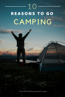10 reasons fall in love with camping #camping #outdoors #gocamping