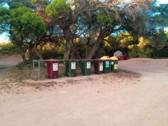 Gleeson's Landing Campground bins