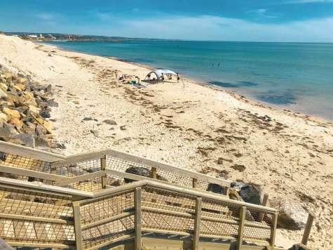 West Beach view