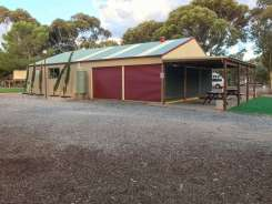 Outside Games room and Camp Kitchen at Big4 Port Willunga Tourist Park