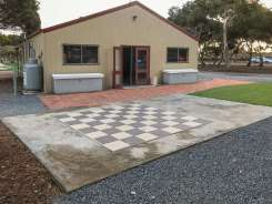 Outside Games room at Big4 Port Willunga Tourist Park