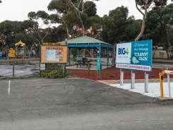 Park entrance at Big4 Port Willunga Tourist Park
