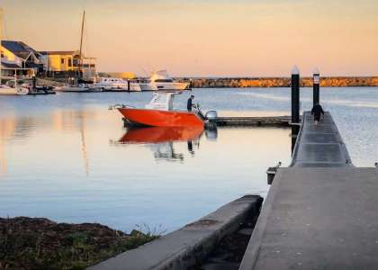 B.A. Boat Hire Amara Boat at North Haven Boat Ramp, Adelaide - Boat rental Adelaide