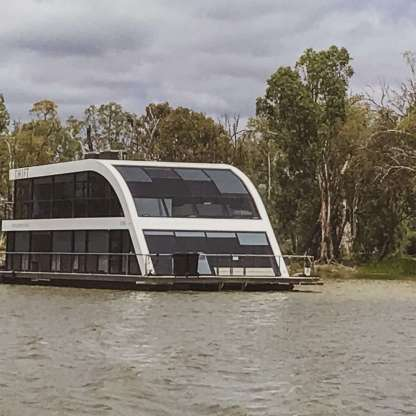 Houseboat Hire in Adelaide, South Australia, available through Riverfun Houseboats
