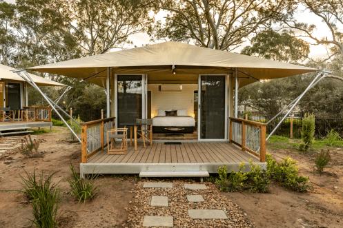 Safari Tents Discovery Parks Tanunda