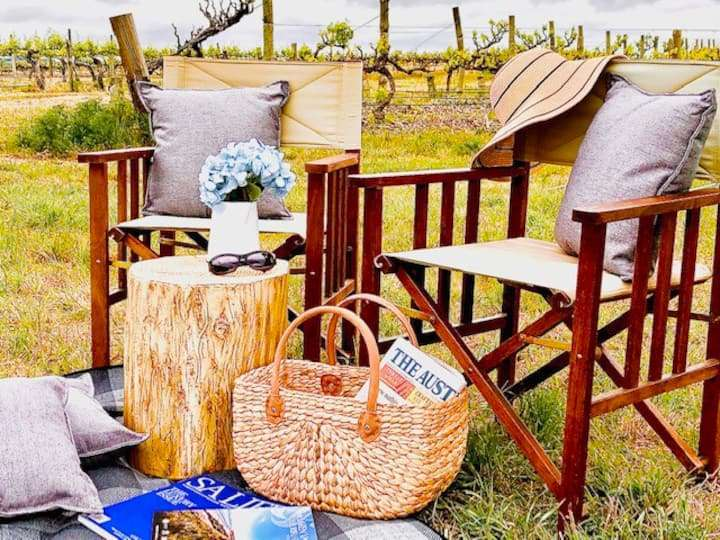 Glamping In The Vines - Grenache Tent, Glamping in Adelaide
