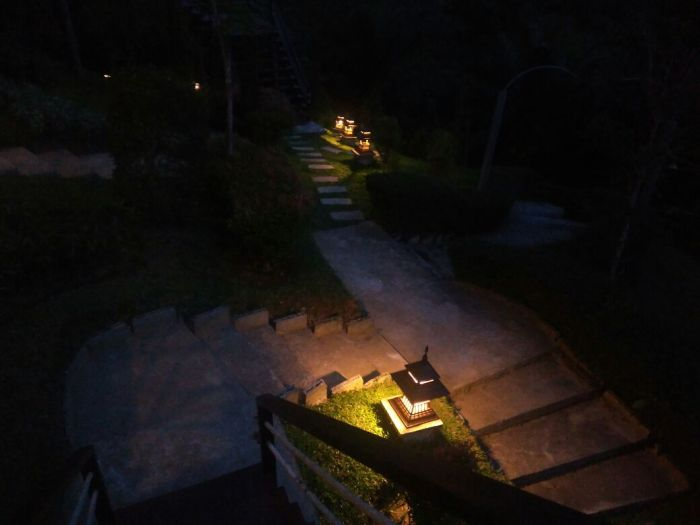Khao Sok Boutique Camps in the dark