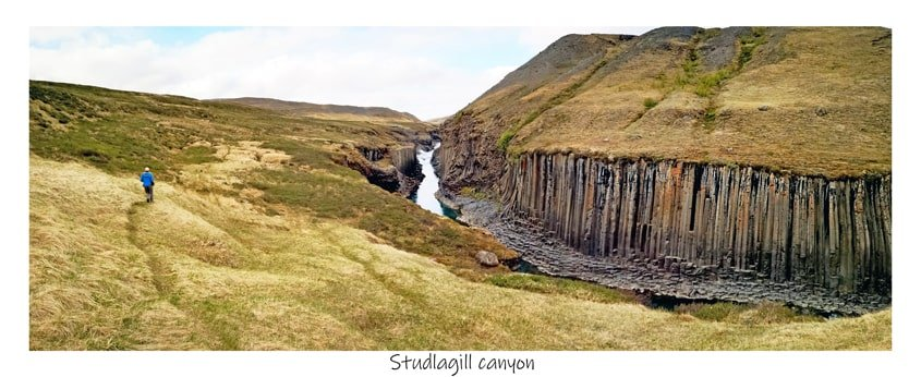 Studlagill canyon