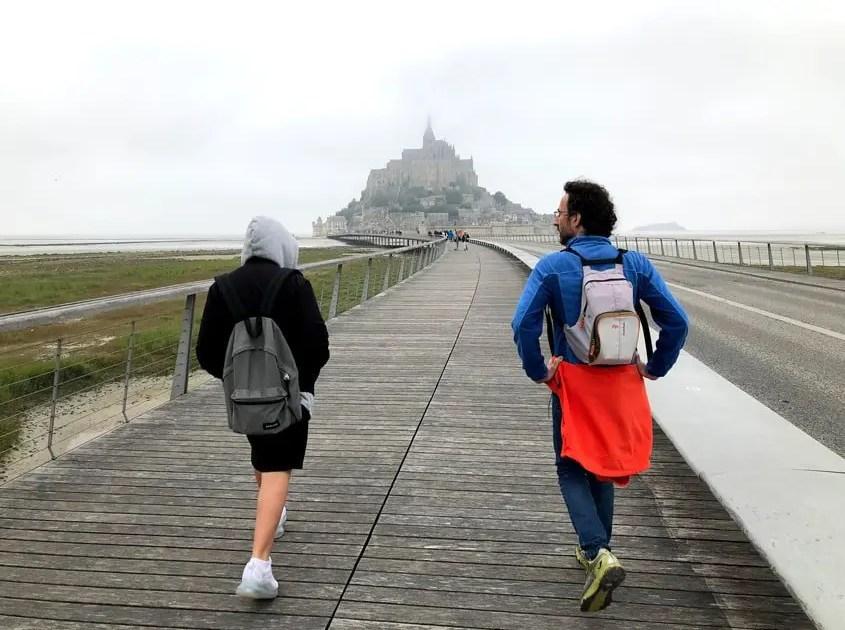 direzione Mont Saint Michel
