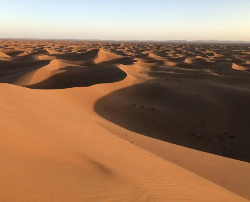 Deserto dello Chagaga in Marocco - Africa