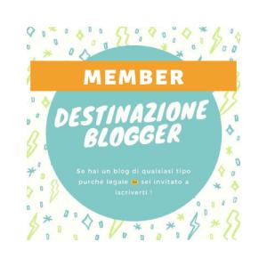logo destinazione blogger