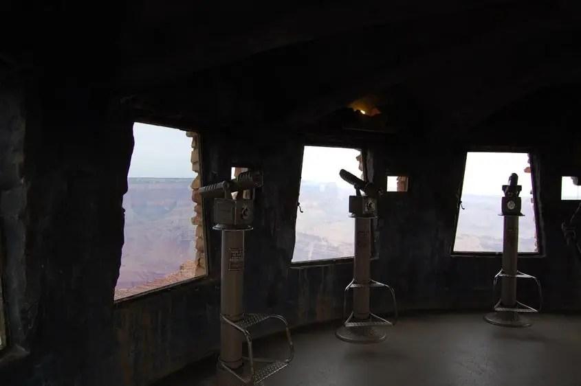 Desert View Watchtower interno