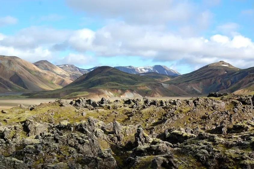 islanda langmannalaugar