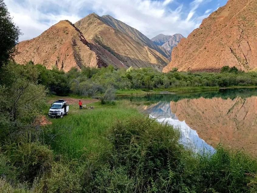 Ak Kol Lake
