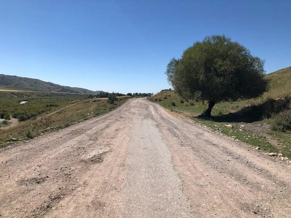condizioni strade in Kirghizistan