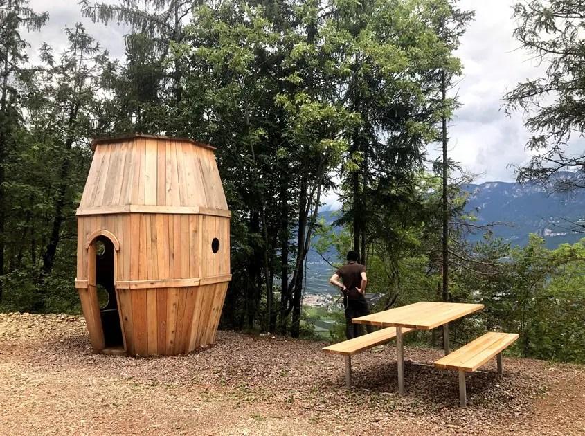 la botte di legno