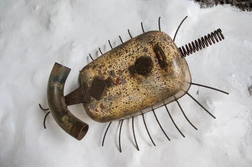 scultura in ferro