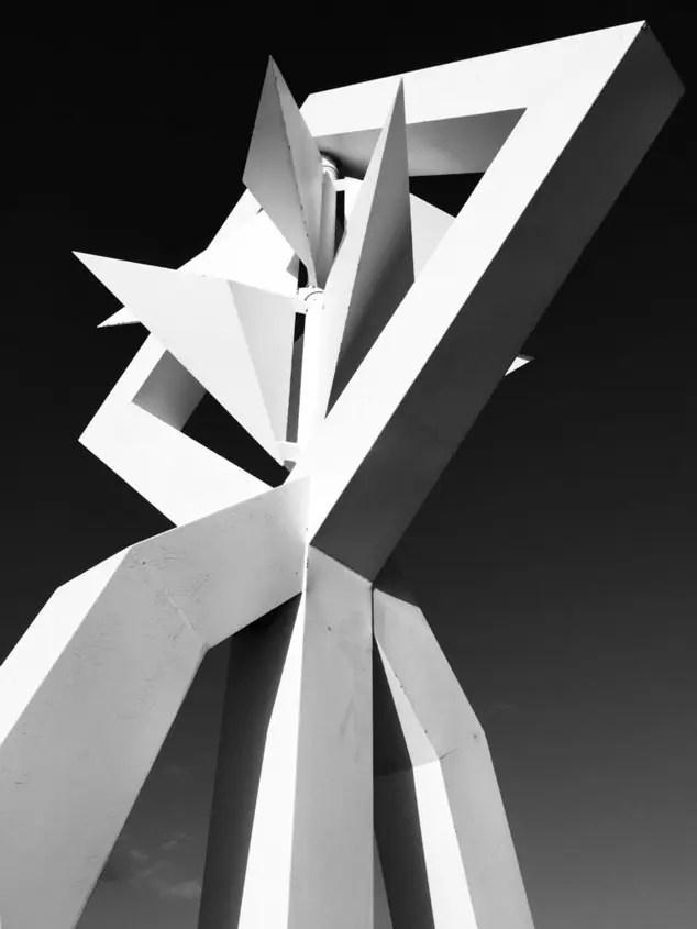 lanzarote scultura bianca
