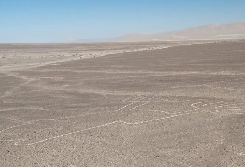 Linee di Nasca visibili dal Mirador