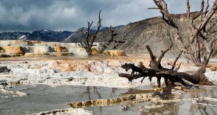 Mammoth Lake uno dei luoghi più inospitali