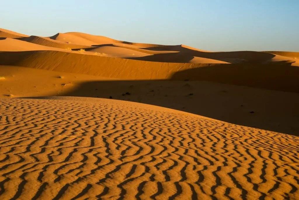 alba sulle dune