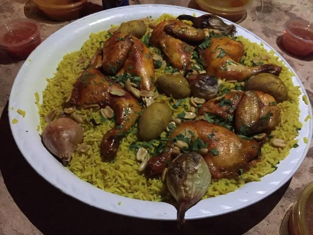 piatto tipico beduino