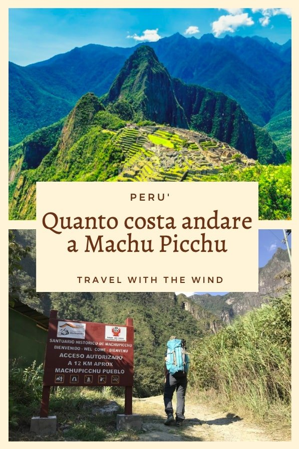 Quanto costa andare a Machu Picchu