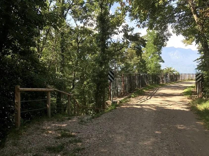 ponte vecchia ferrovia val di fiemme