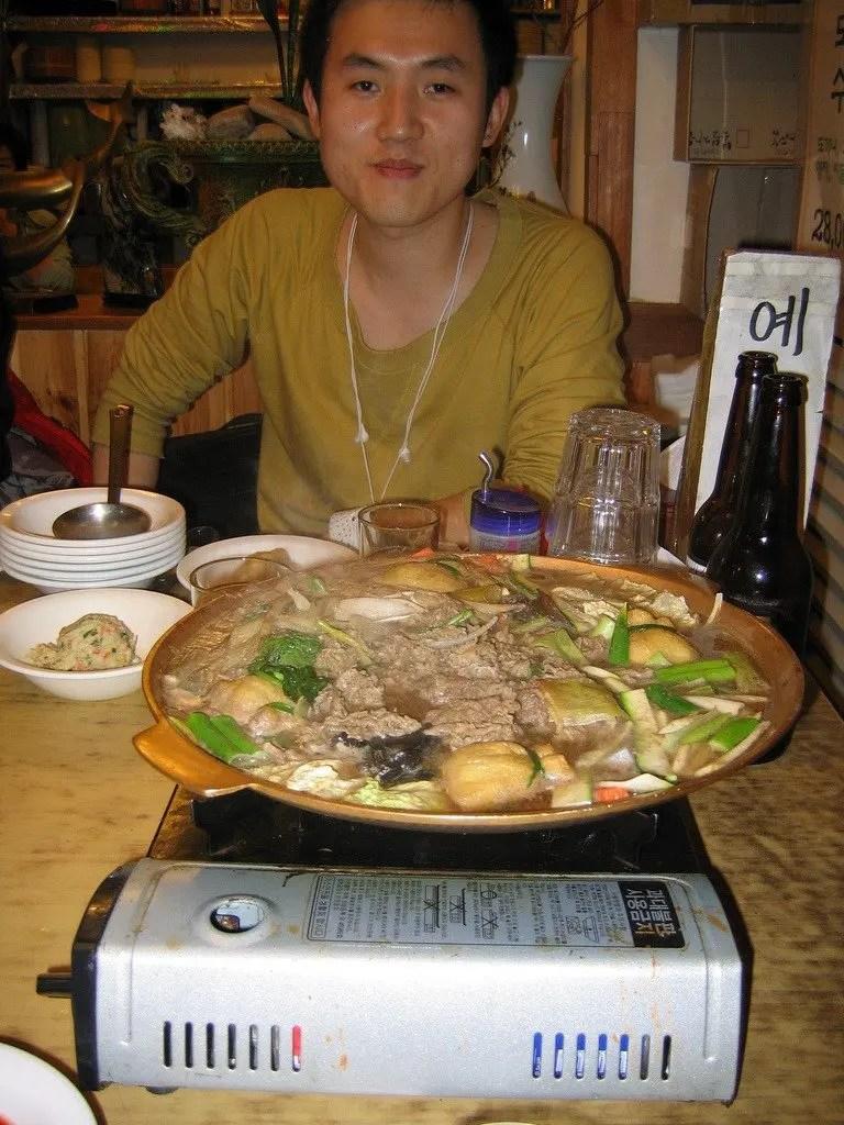 pranzo con kim a seoul