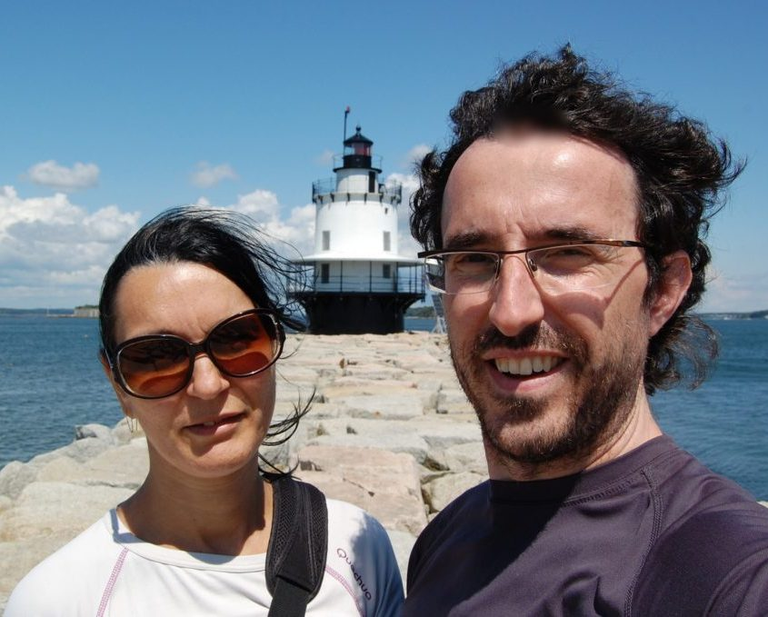 Claudia e Gabri al spring point lighthouse