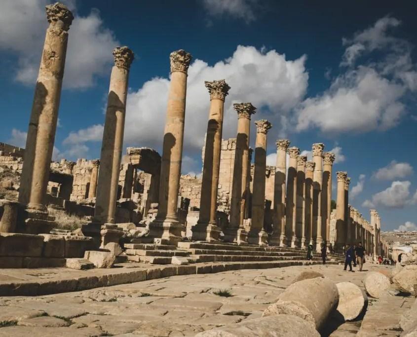 Tempio di Jerash