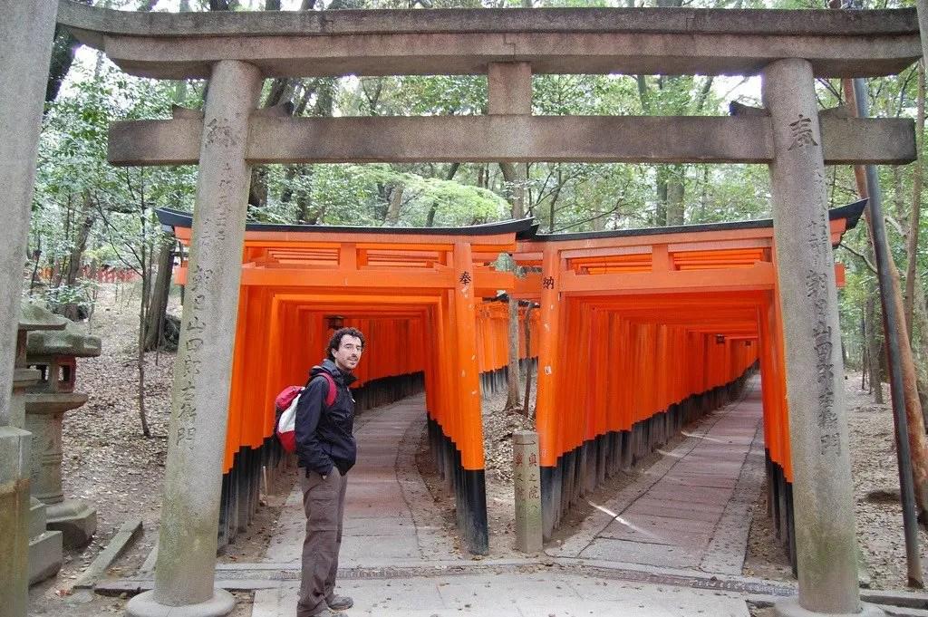 Viaggio in Giappone: i torii del Fushimi Inari Taisha