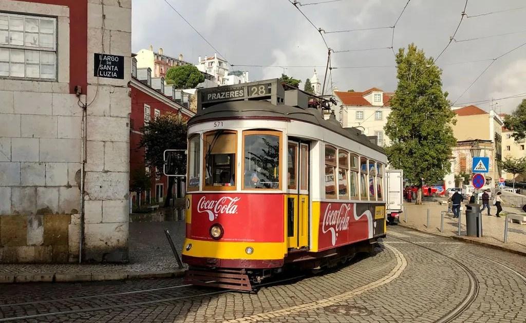 Tram 28 di Lisbona