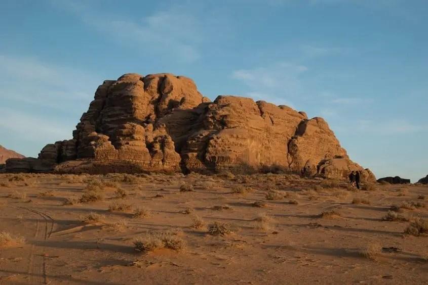 tramonto wadi rum Giordania