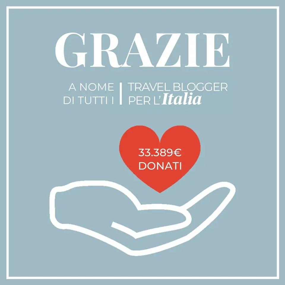 Travel Blogger per l'Italia Grazie