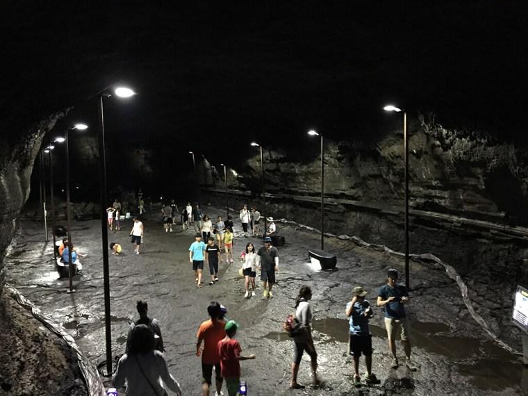 Manjanggul Lava Tube Cavern
