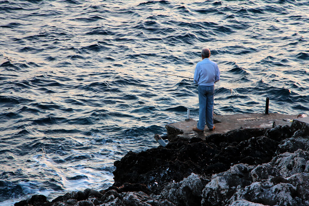 Croatian Evening Fisherman