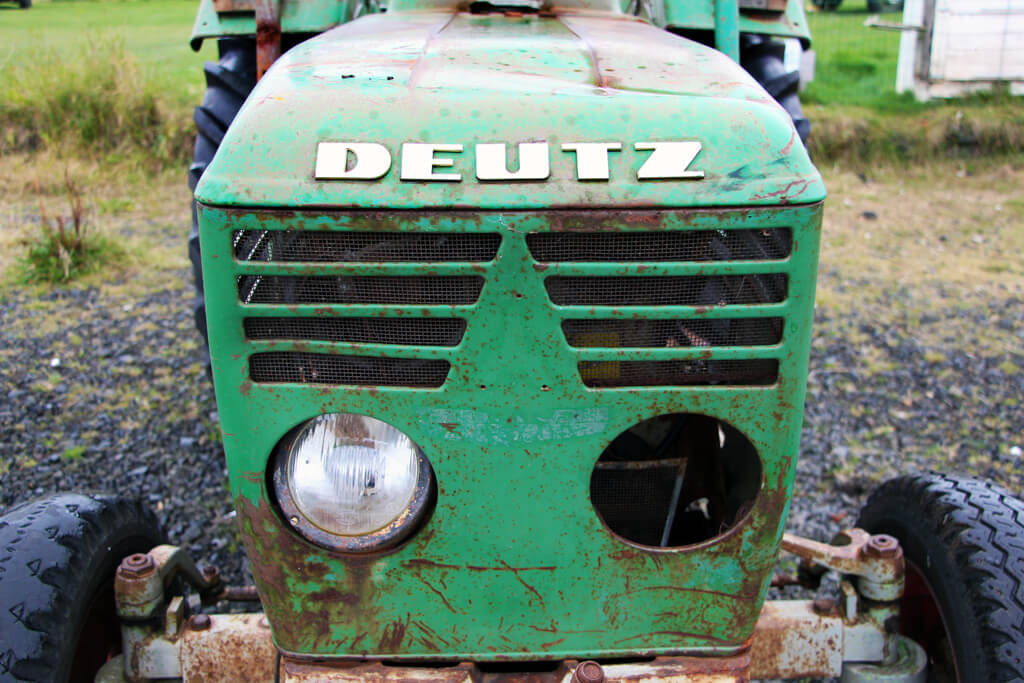 Iceland Green Tractor