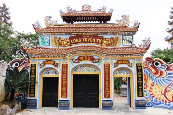 Vietnam Primary Colour Temples