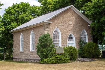 The Famed Paris Plains Stone Church in Canada