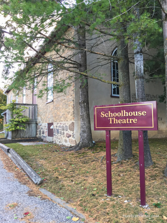 Historic St Jacobs Schoolhouse Theatre in Canada